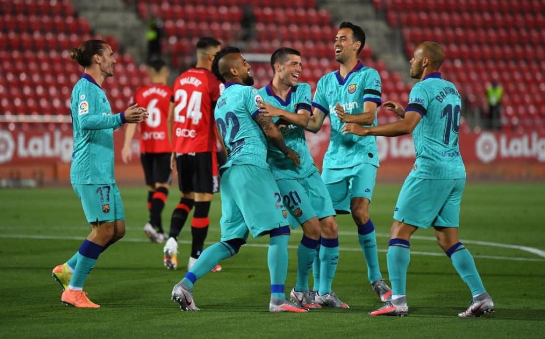 Мальорка - Барселона: видео голов и обзор матча