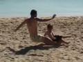 Неадекватный экс-игрок Металлиста с двух ног снес своего маленького сына