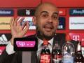 Бавария представила Гвардиолу в качестве нового тренера