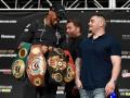 Джошуа - Руис: видео битвы взглядов боксеров