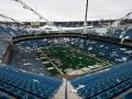 Стадион в США устоял после серии взрывов, направленных на его снос