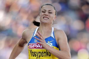 Бронзовый призер Олимпиады-2012 в Лондоне украинская семиборка Людмила Йосипенко