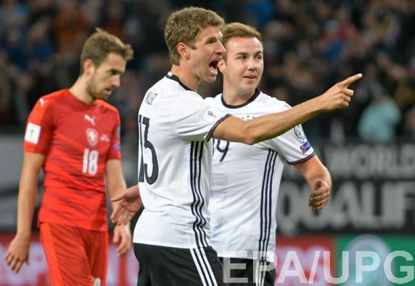 Сборная Германии разгромила команду Чехии