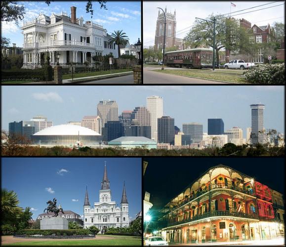Прекрасный Новый Орлеан, знаменитый своей французской архитектурой, потихоньку восстанавливается после разрушительного урагана Катрина 2005-го года