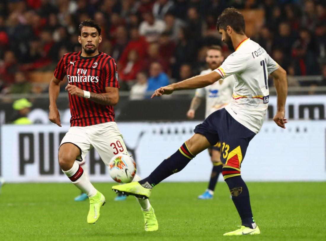 Милан - Лечче: видео голов и обзор матча