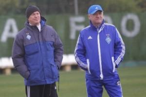 Блохин поделился своими секретами с нападающими Динамо