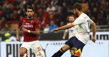Милан - Лечче 2:2 видео голов и обзор матча чемпионата Италии