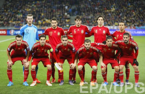 Участник Евро-2016 - сборная Испании