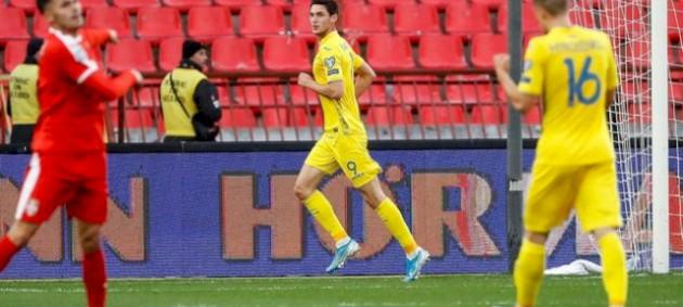 Украина вырвала ничью у Сербии в матче отбора на Евро-2020
