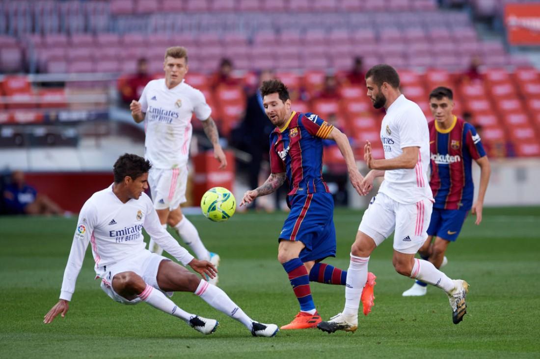 Барселона - Реал: видео голов