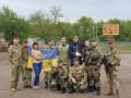 Александр Усик посетил украинских пограничников в зоне АТО