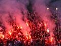 Динамо призывает болельщиков не жечь фаеры на стадионе