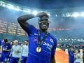 Футболисты Челси застесняли Канте после победы в Лиге Европы