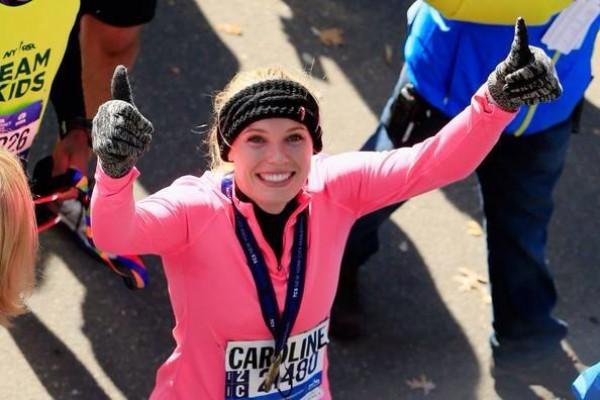 Каролин Возняцки покорила Нью-Йоркский марафон