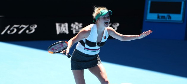 Свитолина пробилась в тяжелом матче в четвертый круг Australian Open