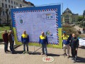 100 дней до Рио: На Буковине создали самую большую Олимпийскую открытку