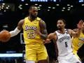 НБА: Лейкерс обыграли Бруклин, Кливленд уступил Вашингтону