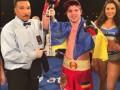Известный украинский боксер разместил георгиевскую ленту в Instagram