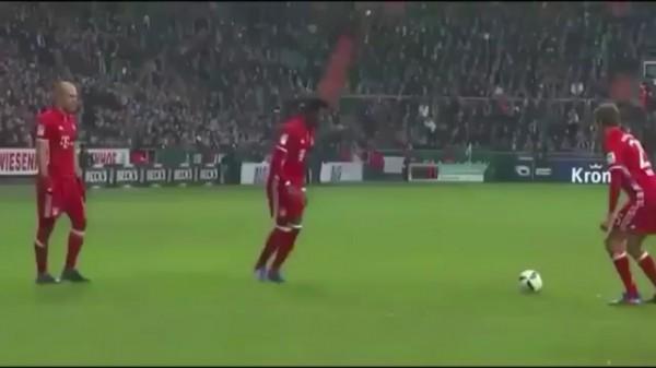 Алаба забил шикарный гол со штрафного