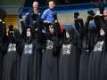 Ужас на трибунах. Матчи Баварии и Челси посетили странные болельщики (ФОТО)