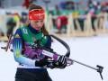 Биатлон: Украинка Журавок финишировала пятой в первой гонке нового сезона