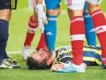 Футболист Бенфики ударом ногой в лицо отправил соперника в больницу (ВИДЕО)