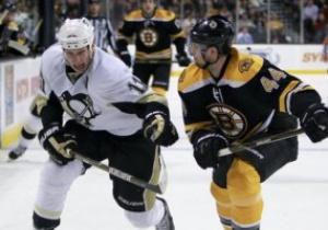 NHL: Пингвины оказались сильнее бостонских Мишек