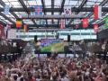 Безудержное веселье: английские фанаты сходили с ума после каждго гола сборной