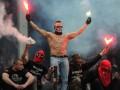 Фанаты Спартака и Атлетика устроили драку перед матчем Лиги Европы