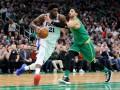 НБА: Филадельфия разобралась с Бостоном, Сан-Антонио в овертайме уступил Кливленду