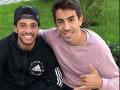 Игрок Динамо с семьей провел Тайсона в Бразилию