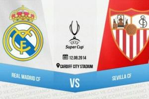Реал Мадрид - Севилья: где смотреть матч