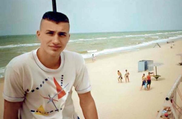 Владимир Кличко в подростковом возрасте