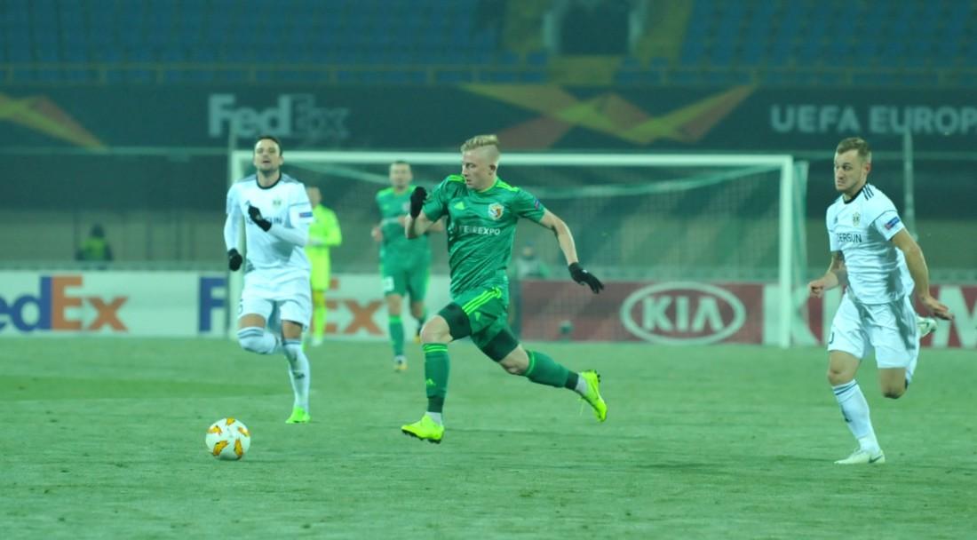 Ворскла - Карабах: видео гола и обзор матча