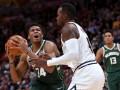 Великолепный данк Адетокумбо – в топ-5 моментов дня в НБА