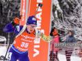 Украинки финишировали 8-ми в женской эстафете в Оберхофе