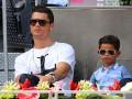 Сын Роналду хочет быть похожим на отца