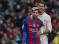 СМИ: Роналду и Месси не попадут в тройку претендентов на Золотой мяч