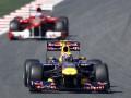 Гран-при Испании: Уэббер показал лучший результат на первой практике