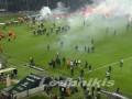 Недовольные фанаты сорвали матч Кубка Греции