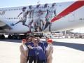 Игроков Реала изобразили на новом самолете спонсора