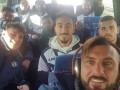 Полуголые итальянские футболисты интересным танцем отпраздновали победу в матче