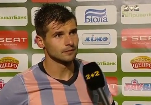 Младен Бартулович забил два гола в ворота Шахтера