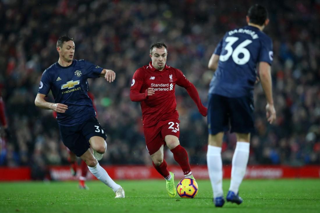 Ливерпуль - Манчестер Юнайтед: видео голов