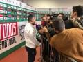 Марлос после матча отказался давать комментарии украинским журналистам