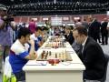 Украинские шахматисты идут в лидерах Олимпиады
