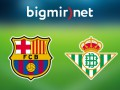 Барселона - Бетис 6:2 Онлайн трансляция матча чемпионата Испании