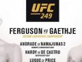 Официально: UFC 249 отменили из-за коронавируса