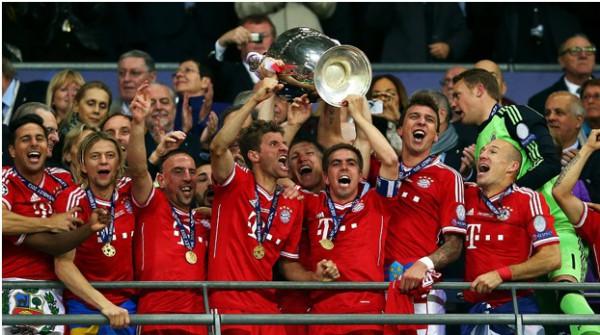 Бавария признана лучшей командой мира в 2013 году
