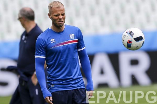 Гудьонсен счастлив результату сборной Исландии